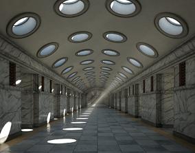 Corridor 01 3D model