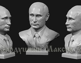 3D print model Putin V bust2