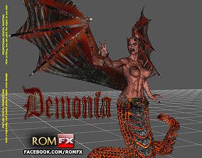 Demonia Creepy Figure Printable