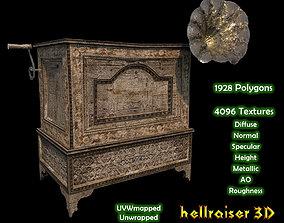 3D asset Gramophone - Textured