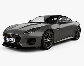 3D Jaguar F-Type R-Dynamic Convertible 2017