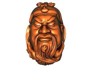 3D printable model Guan Gong hercules