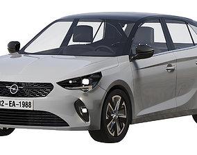 Opel E corsa 2019 3D