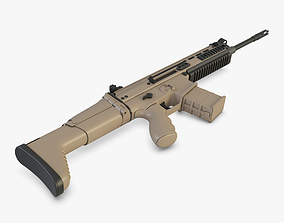 3D Rifle GBB WE SCAR-H