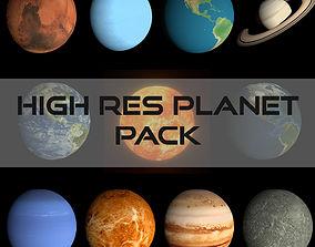 3D model HD Planet Pack