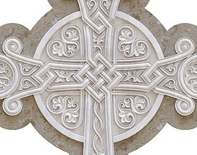 church 3D printable model Cross