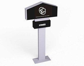 Street element sign 35913 3D model