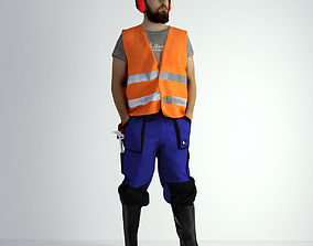 Worker 3D Models   CGTrader