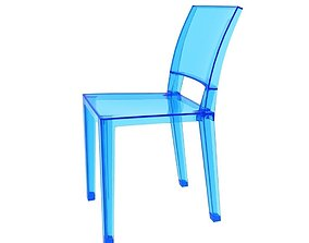 3D model Kartell Invisible Side Chair
