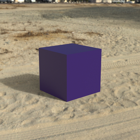 Bangin' Box on Beach