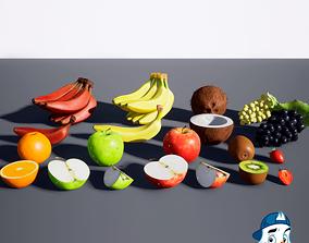 3D model PBR Fruit Pack