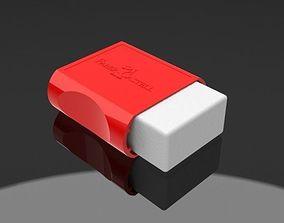 3D Faber Castell Rubber