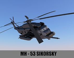 MH-53 SIKORSKY 3D model game-ready