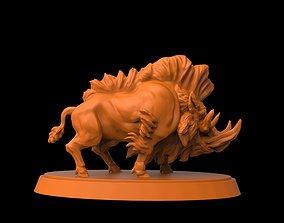 3D printable model Dire Boar