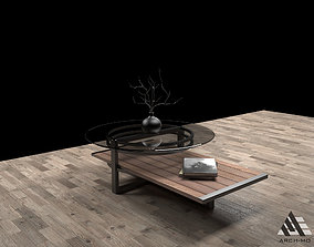 3D model Coffee table 01- furniture
