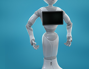 3D model Pepper Robot