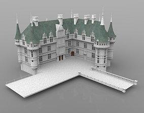 3D Chateaux Azay le Rideau for DAZ Studio