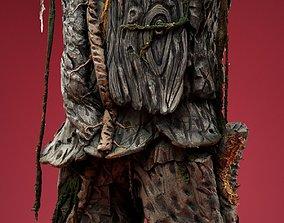 3D asset Tree Man Costume