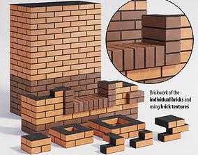 3D asset Brickwork