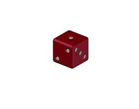 3D print model D6 Dice 6