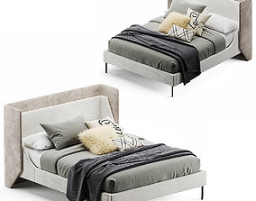 West Elm Thea Wing bed 3D