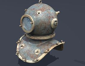 3D model XIX Century diving helmet