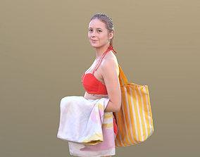 Elena 10455 - Walking Bikini Girl 3D model