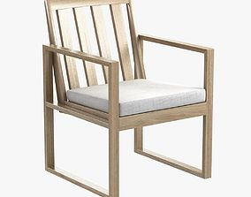 3D Sutherland Poolside Dining Arm Chair