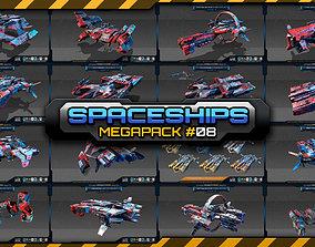 Spaceships Megapack 08 3D model