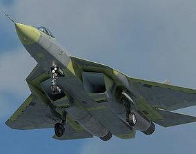 Russian Air Force Sukhoi T-50 PAK FA prototype 3D