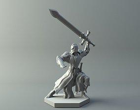 3D print model character Warrior
