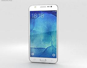 3D Samsung Galaxy J5 White