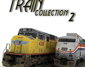 train collection 2 3D asset