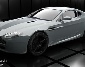 3D Aston Martin V8 Vantage