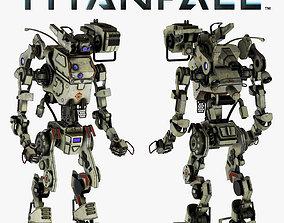 3D Titanfall Stryder