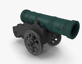 Tsar Cannon 3D asset game-ready