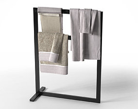 3D model Free Standing Towel Rail