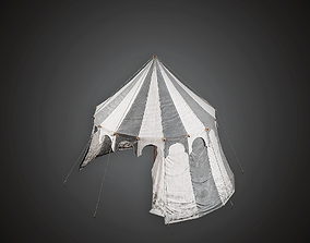 3D asset Tent - MVL - PBR Game Ready