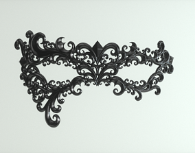 Carnival Mask 3D printable model luxury