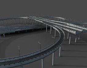 Highway Interchange 3D