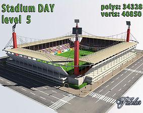 Stadium Level 5 Day 3D asset