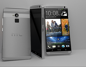 3D model HTC One Max - White