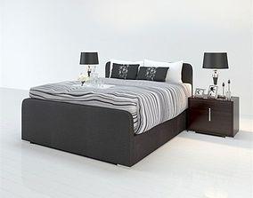 3D print model bed room
