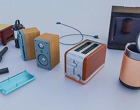 3D model Electrical Applicances Kit 1