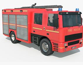 3D model Fire Truck - Rescue Machine