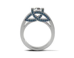 Ethnic Engagement ring 3D print model