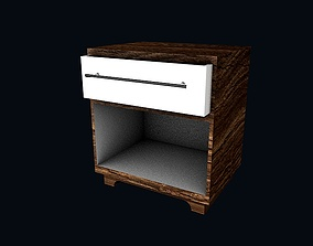 3D model Bedroom cabinet 8