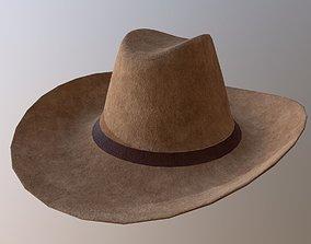 Cowboy Hat 3D asset