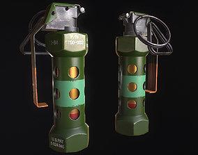 M84 Stun Grenade 3D model VR / AR ready