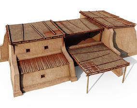 Sturdy Shanty 3D model low-poly